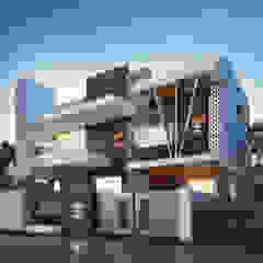 by Nirav Design Modern Solid Wood Multicolored