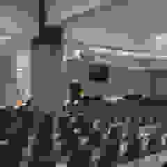 G Church Interior Ruang Media Modern Oleh TIES Design & Build Modern
