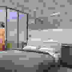Dormitorios de estilo moderno de TIES Design & Build Moderno