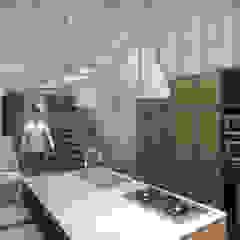 Cocinas de estilo moderno de TIES Design & Build Moderno