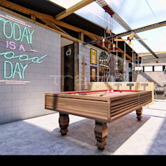Gentleman's BarberShop Espaços comerciais industriais por Traço M - Arquitectura Industrial