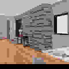 """Casa """"HT"""" Corredores, halls e escadas rústicos por Traço M - Arquitectura Rústico"""
