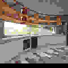 """Casa """"HCS"""" por Traço M - Arquitectura Escandinavo Madeira Acabamento em madeira"""