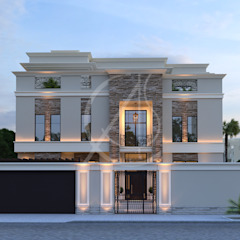 Modern Classic House Design by Comelite Architecture, Structure and Interior Design Modern