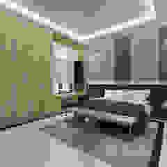 House in Banjar Wijaya, Tangerang Kamar Tidur Gaya Skandinavia Oleh The Ground Market Skandinavia
