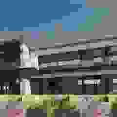 Ultra Modern Bushveld Home by Venuï Architects Rustic Stone