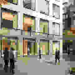 Espaces commerciaux modernes par Elyse Design Moderne Verre