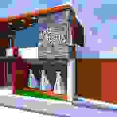 by Crearq-Arquitecto C.ROSAS Minimalist گلاس