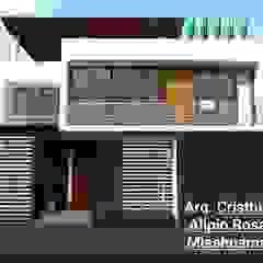 VIVIENDA UNIFAMILIAR de Crearq-Arquitecto C.ROSAS Minimalista Ladrillos