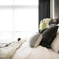 Captivating Chic Classic style bedroom by Double Art Design Studio Classic