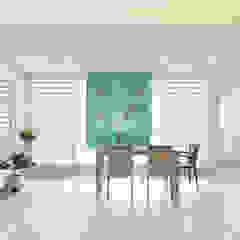 현대적인 고전미가 묻어나는 50평 아파트 인테리어 : 용인 수지구 대우 푸르지오 by BK Design Studio 클래식