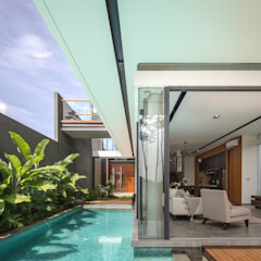 IL House Rumah Modern Oleh Rakta Studio Modern