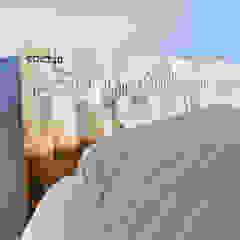 Detail of bed edictum - UNIKAT MOBILIAR BedroomBeds & headboards Wood Beige