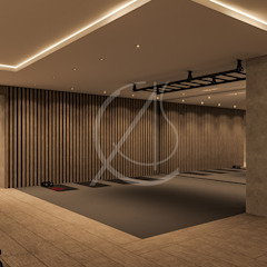 Aswar Hotel - Modern Moroccan Hotel Design Modern gym by Comelite Architecture, Structure and Interior Design Modern