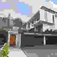 Sukamulya House Oleh CV Berkat Estetika Tropis Kayu Wood effect