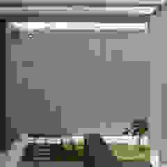 Q-House Balkon, Beranda & Teras Tropis Oleh CV Berkat Estetika Tropis Beton