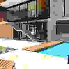 CASA 01 de D2 ARQUITECTURA Y MOBILIARIO Moderno Concreto
