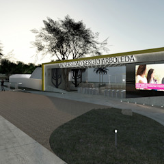 UNIVERSIDAD SERGIO ARBOLEDA SEDE BARRANQUILLA de DOMOS ARQUITECTURA S.A.S Moderno