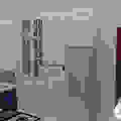 Diseño de Cocina - Espacios pequeños de Nathalia Castro Bazan - Arquitecta de interiores Ecléctico