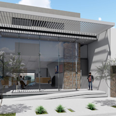 Local Comercial y oficinas/departamentos Oficinas y comercios de estilo minimalista de ARBOL Arquitectos Minimalista