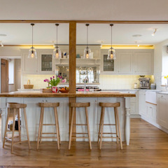 Cottage kitchen extension Country style kitchen by WALK INTERIOR ARCHITECTURE + DESIGN Country