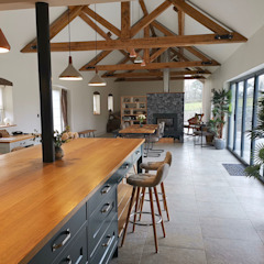 New build farm house Country style kitchen by WALK INTERIOR ARCHITECTURE + DESIGN Country
