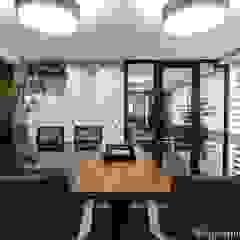 by CG arquitetura e interiores Modern لکڑی Wood effect