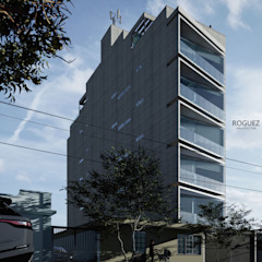by Roguez Arquitectos Minimalist مضبوط کیا گیا کنکریٹ