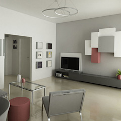 Laboratorio Creativo Up Modern living room