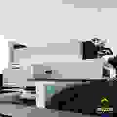 Residência A97 por ARCON - arquitetura | construtora Minimalista Concreto