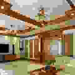 Creo Homes Pvt Ltd Salones de estilo asiático