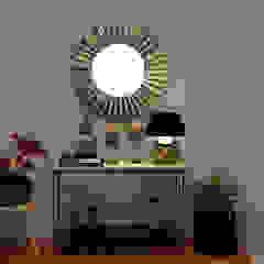 Rustic style corridor, hallway & stairs by Nkantus Interior Design Rustic