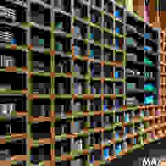 Salon Repablo w Galerii Avenida w Poznaniu od MAXDESIGNER Nowoczesny