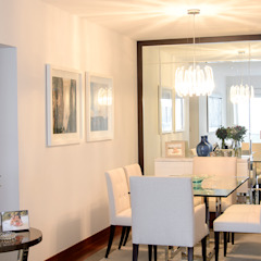 Sala comedor en San Isidro Comedores de estilo moderno de Velú Studio Moderno
