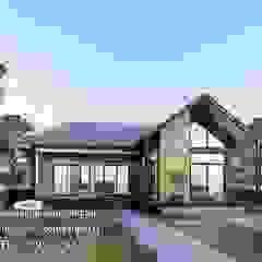 งานออกแบบบ้านชั้นเดียว รหัส MD1-005 โดย Kor Design&Architecture โมเดิร์น คอนกรีต