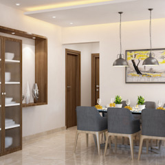 Mediterranean style dining room by Space Clap Mediterranean