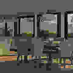 Scandinavian style dining room by MOD | Arquitectura Scandinavian Wood Wood effect
