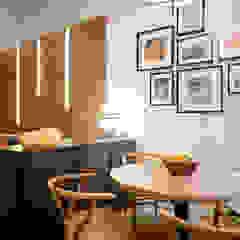 Mediterranean style dining room by Piedra Papel Tijera Interiorismo Mediterranean