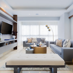 Salas multimedia modernas de MG INTERIOR DESIGN Moderno