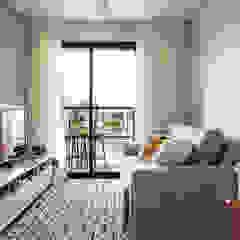 Apartamento MG Salas de estar escandinavas por Luciana Ribeiro Arquitetura Escandinavo