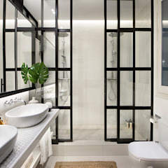 Eclectic style bathrooms by Egue y Seta Eclectic