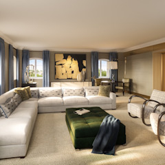 Chelsea Apartments od Stahovski Designs Nowoczesny