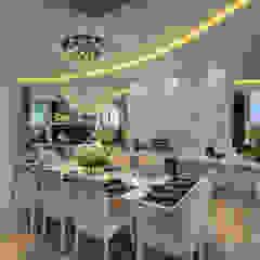 Casa Esplêndida Salas de jantar modernas por Arquiteto Aquiles Nícolas Kílaris Moderno