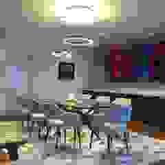 Proyecto Malecón Cisneros Comedores de estilo moderno de ai+d diseño by Claudia Triveño Moderno
