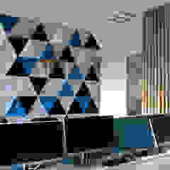 Aménagement open-space Espaces de bureaux modernes par Tiphaine PENNEC Moderne