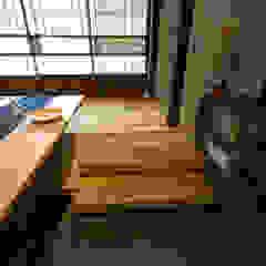 de 森村厚建築設計事務所 Asiático Madera Acabado en madera