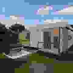 Canada Container House Cemile Ozkan Kayacik Mimarlik Ofisi Endüstriyel Ahşap-Plastik Kompozit
