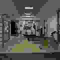 Minimalistyczna siłownia od Asya Yapı İçmimarlık Minimalistyczny