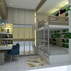 by Corpuz Interior Design Tropical