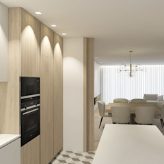 VP House por 411 - Design e Arquitectura de Interiores Moderno